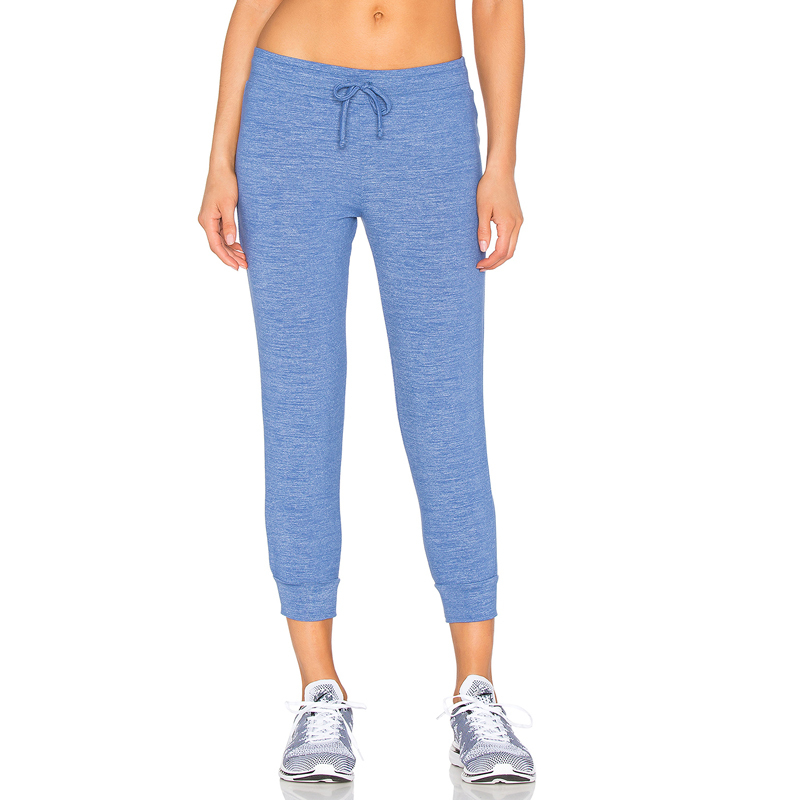 Wholesale Guangzhou factory Blue jogger pants