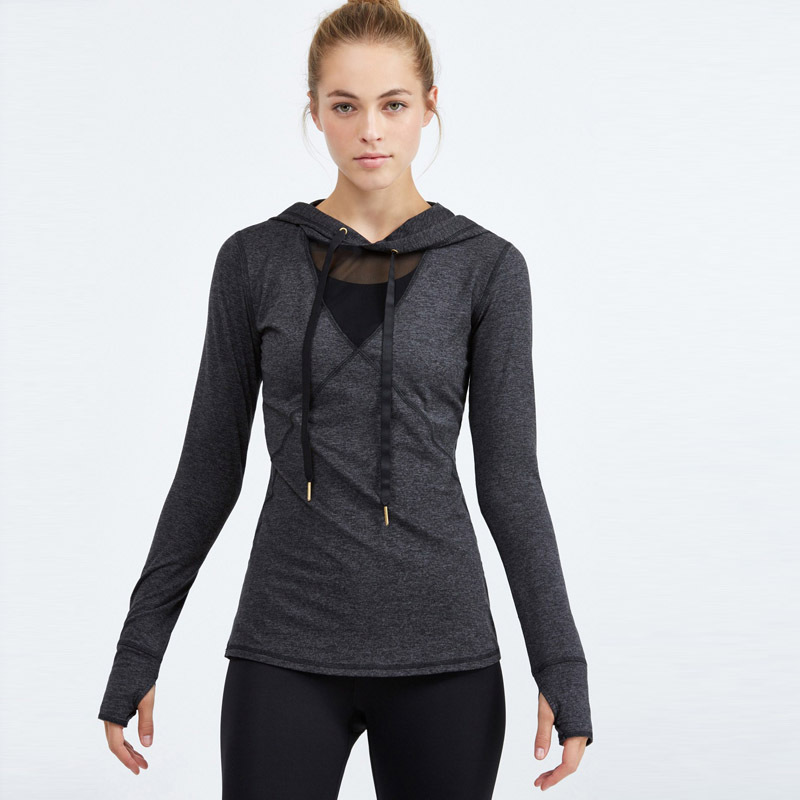 OEM women transparent hoodies
