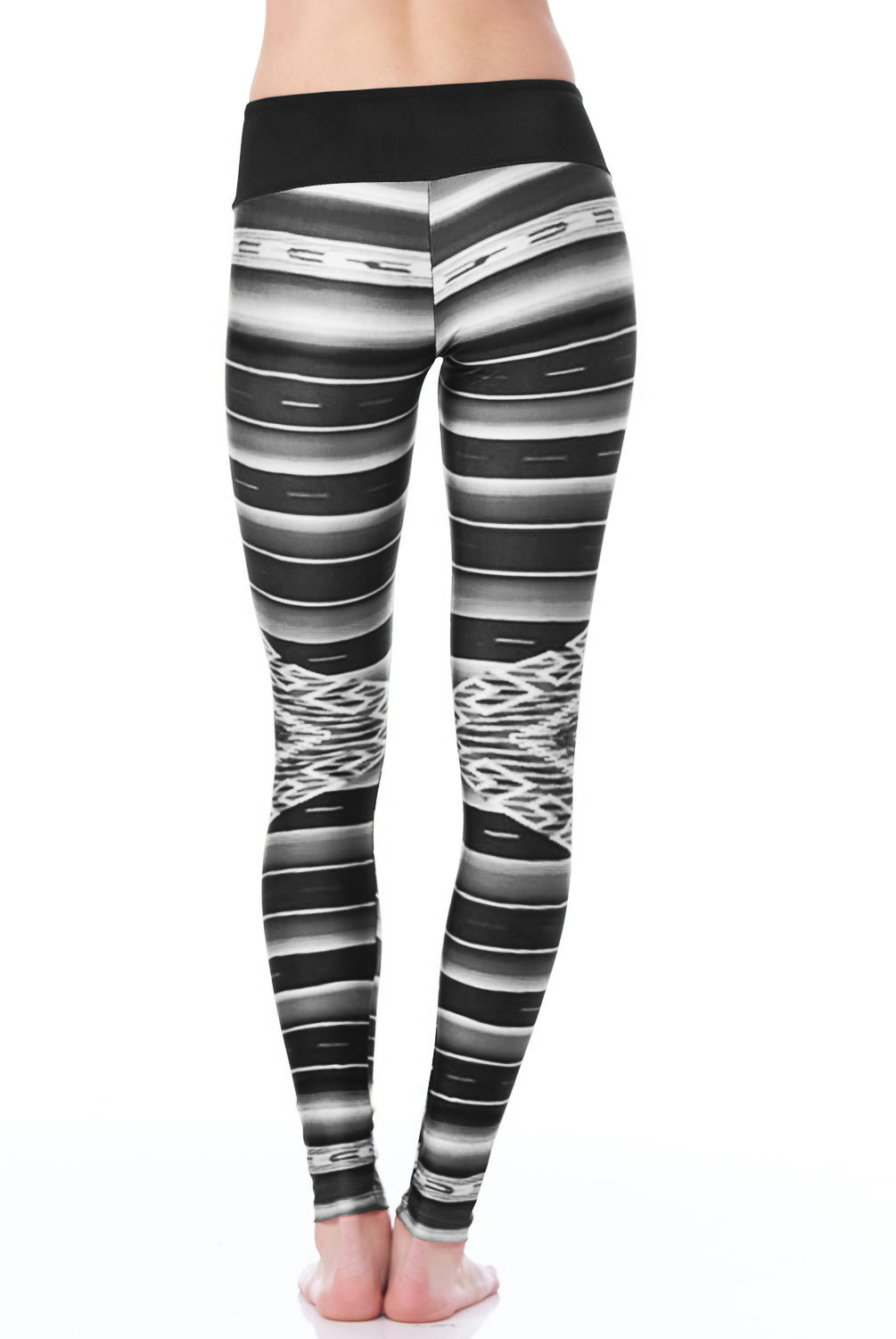 Custom sublimation printed 3xl yoga leggings