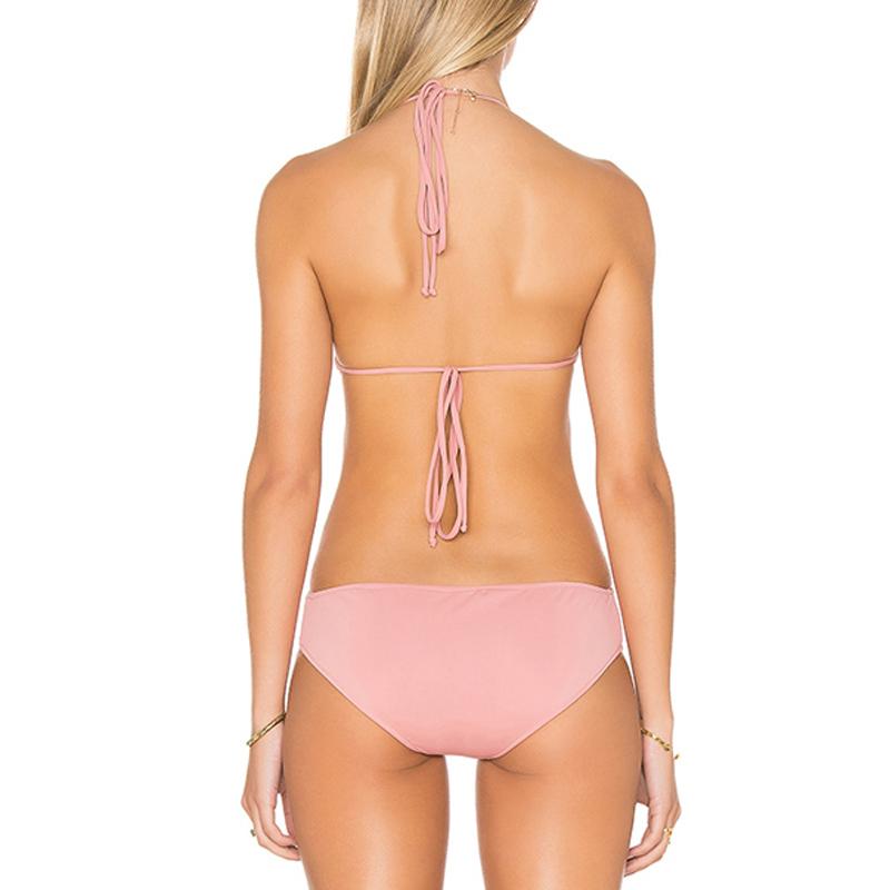 pink monokinis swimwear bikini bathing suits