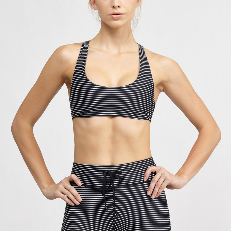 Yoga fitness bra sports underwear sport bra with inner bra a