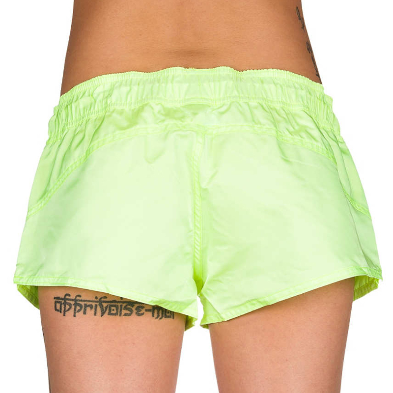 solid color bright color women board shorts swim trunks