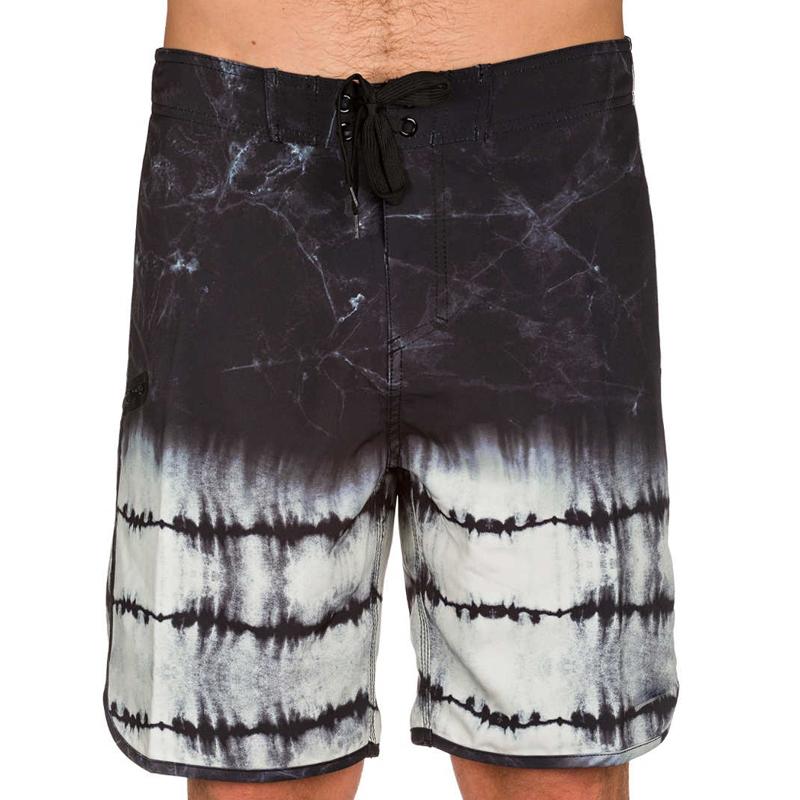 染色男子泳裤短裤