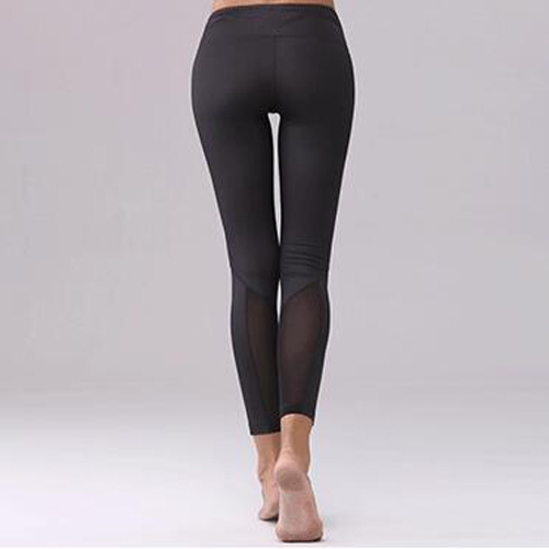 black custom your logo sport leggings