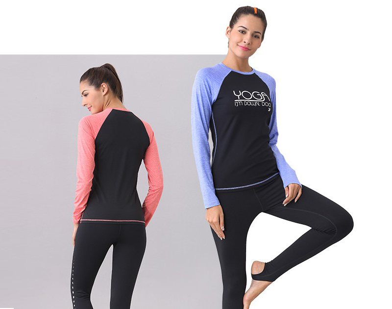 OEM Long sleeves women yoga wear