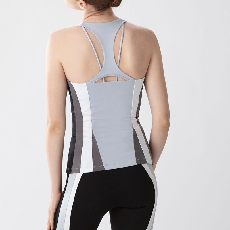 High quality spandex nylon yoga soft tank tops
