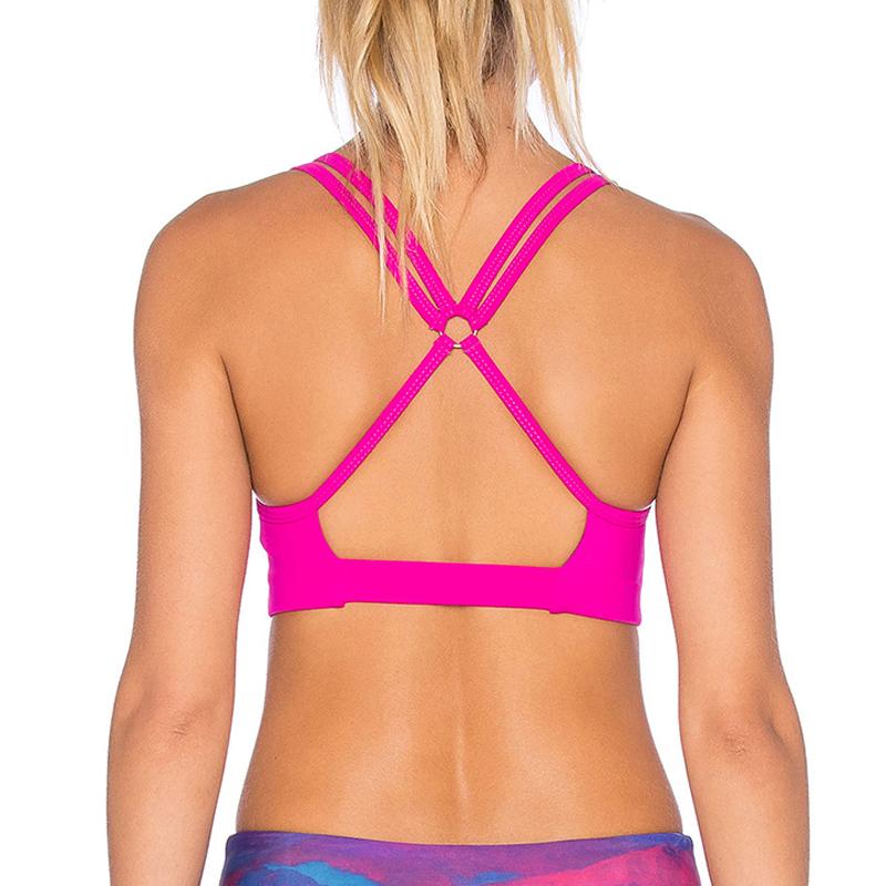 custom sports bra yoga wear gym wear manufacturer