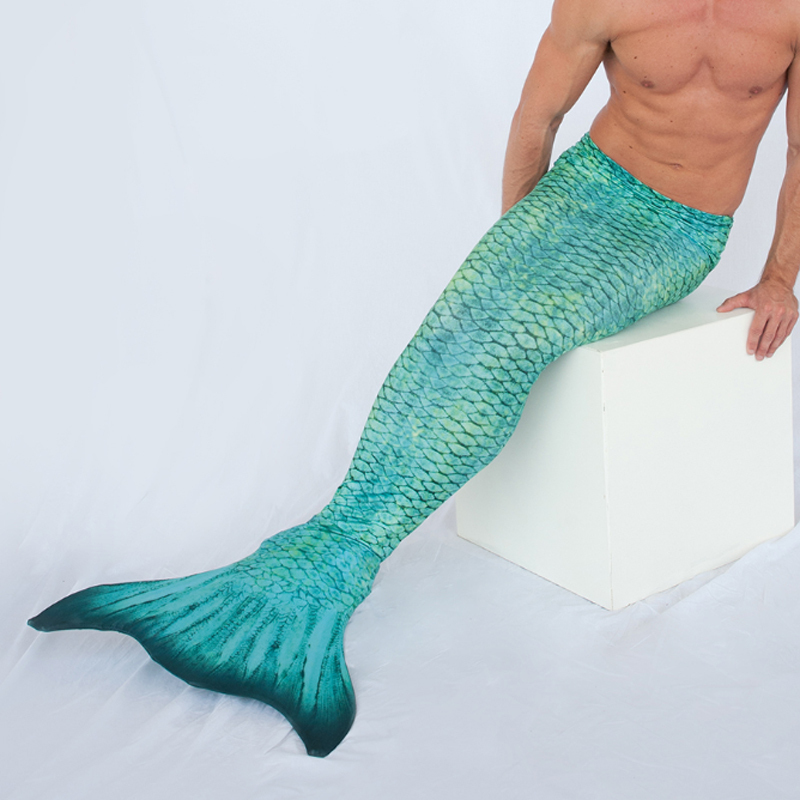custom green mermaid tail China manufacturer