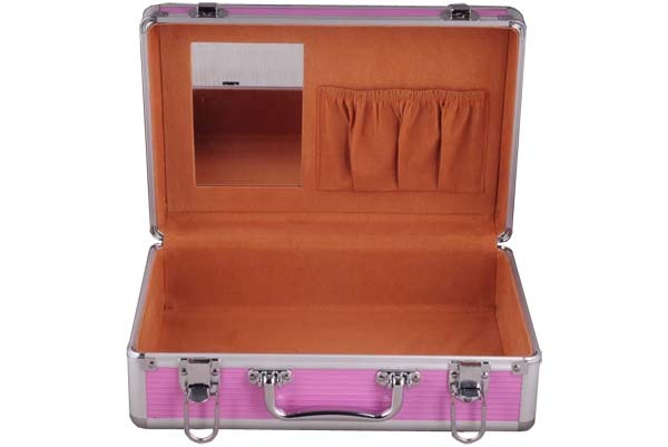 Pink Cosmetic  and Tool Storage Carrying Case- JM050