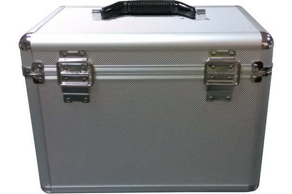 Beauty Case with Combination Locks and Detachable Plastic Tr
