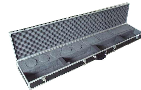 Custom Made Rifle Case with compartments - GN008