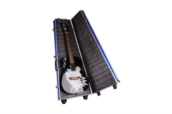 Guitar Carring Case With Wheel and Foam  - TO037