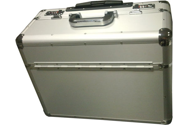 Combination Lock Aluminum Flight Case with Trolley - TO042