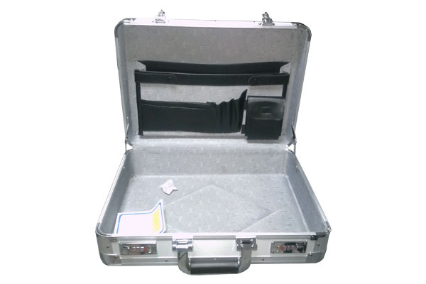 Combination Lock Aluminum Brief and Money Case - TO044