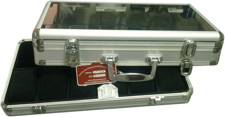 Detachable Carrying  Case with Transparent Window for 24 Wat