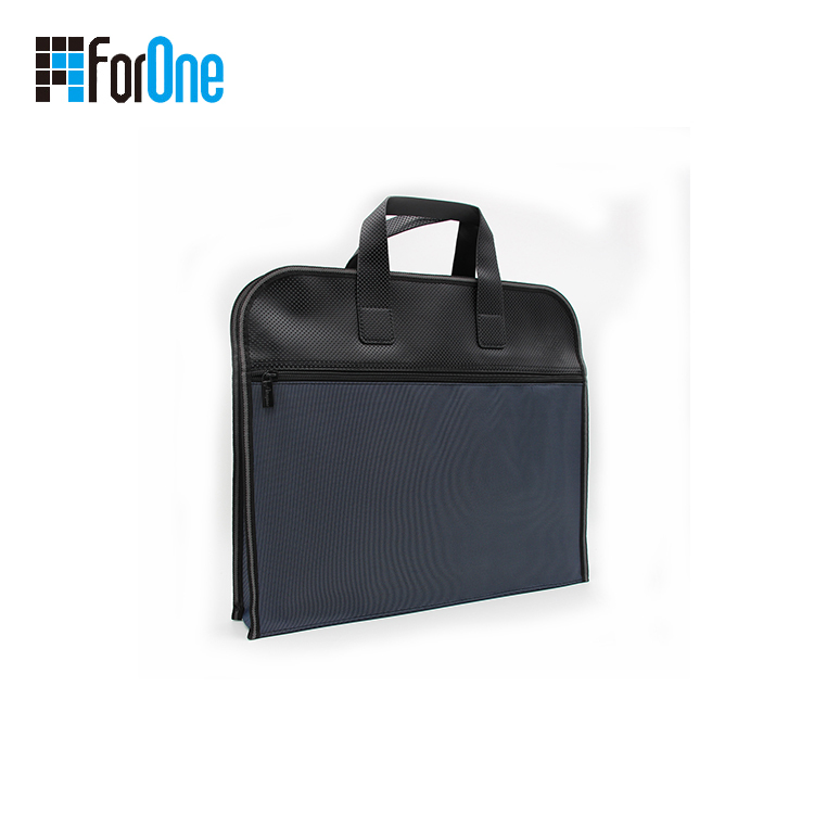 PU leather document bag for man