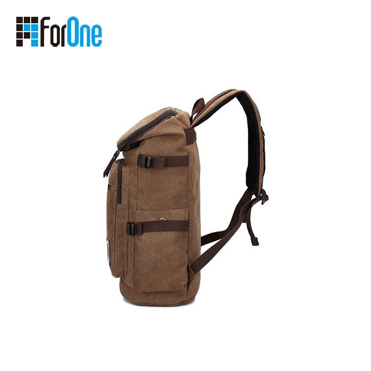 Bespoke Outdoor Large Capacity Canvas Backpacks