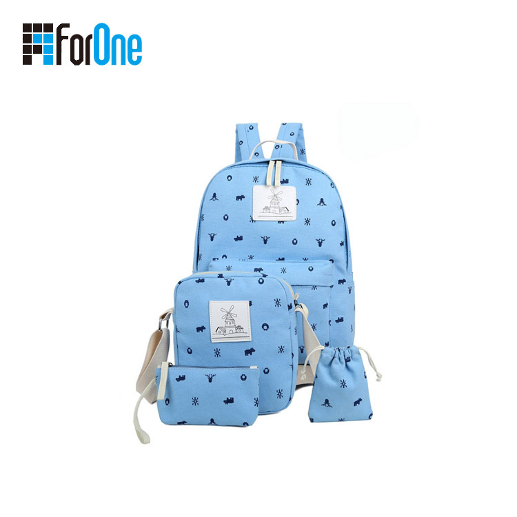 Factory Supply Customized Printed School Bag Series for Sale