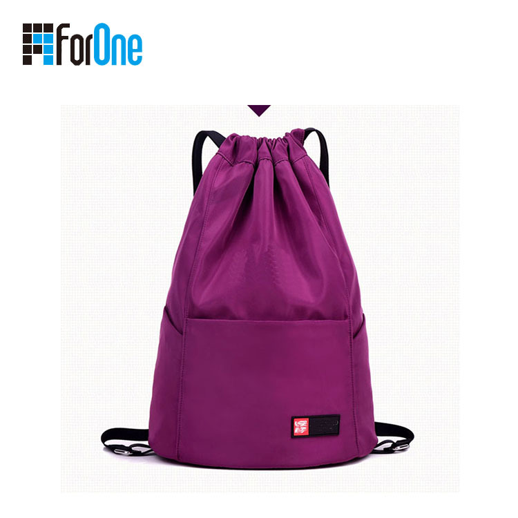 customized shoulder strap simple backpack factory