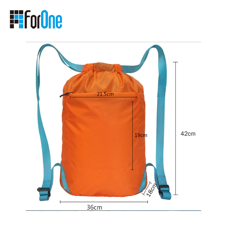sport  backpack folded supply