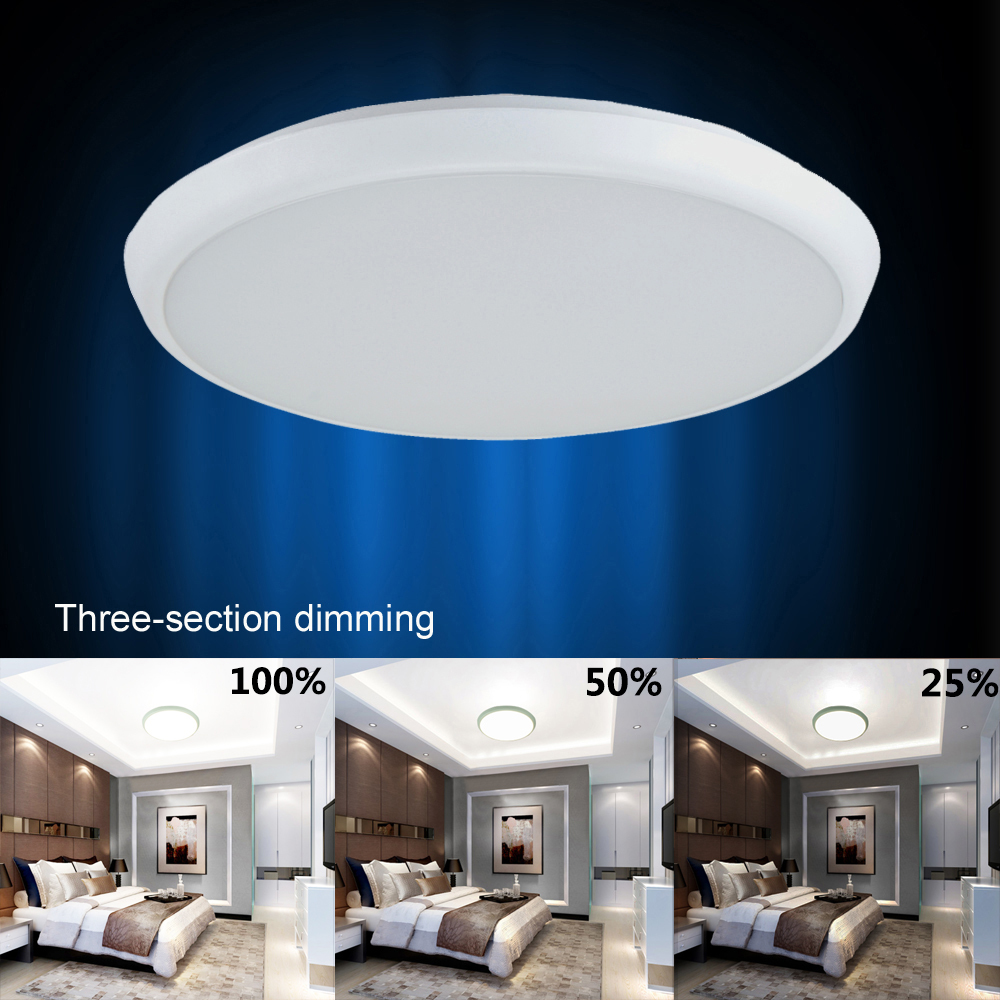 12 inch  24W 2160LM  Dimmable Ceiling Light White /Warm