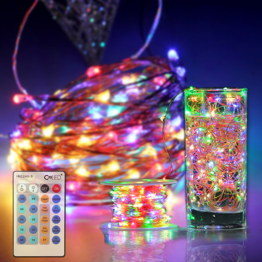 30M 300 LEDs RGB Lighting String Lights dimmable IP65