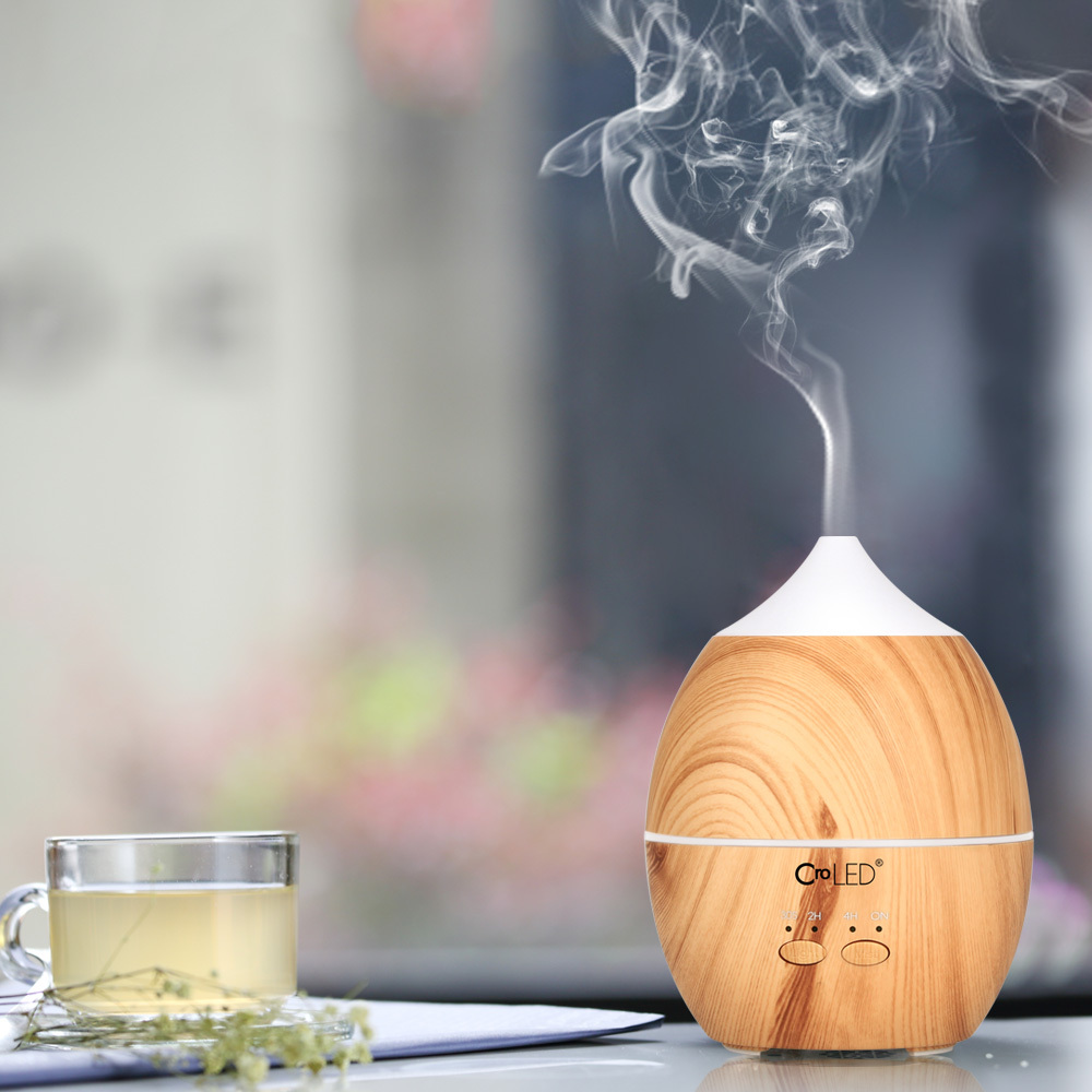 300ml Cool Mist Humidifier Ultrasonic Aroma Essential Oil