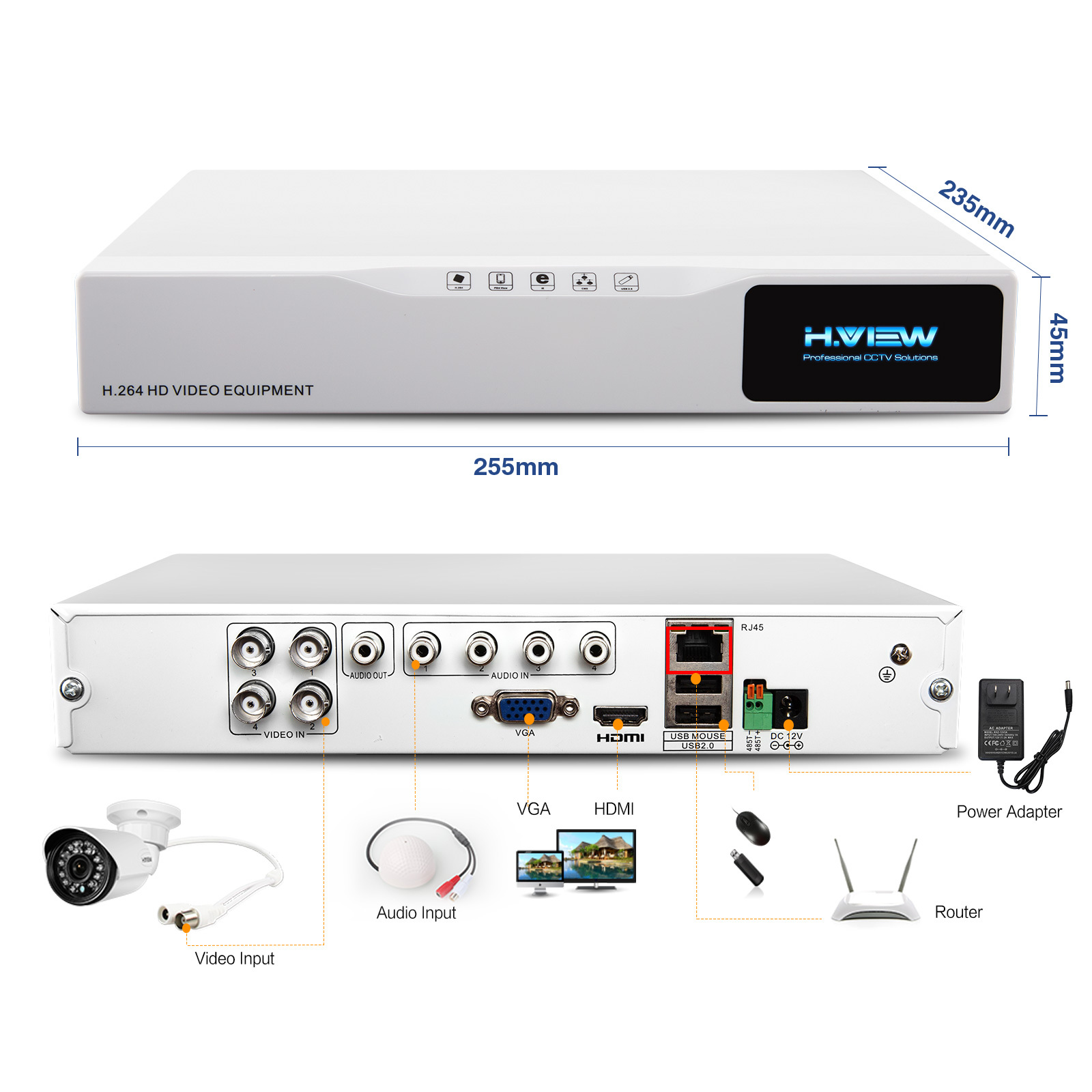 Hew 720p hd home cctv camera system 1tb hdd 4 channel 720p ahd hew 720p hd home cctv camera system 1tb hdd 4 channel 72 cheapraybanclubmaster Images