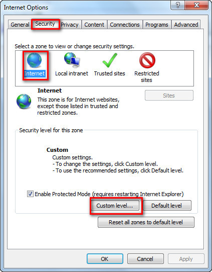 NO27. What to do if IE doesn't allow to install plug-in?