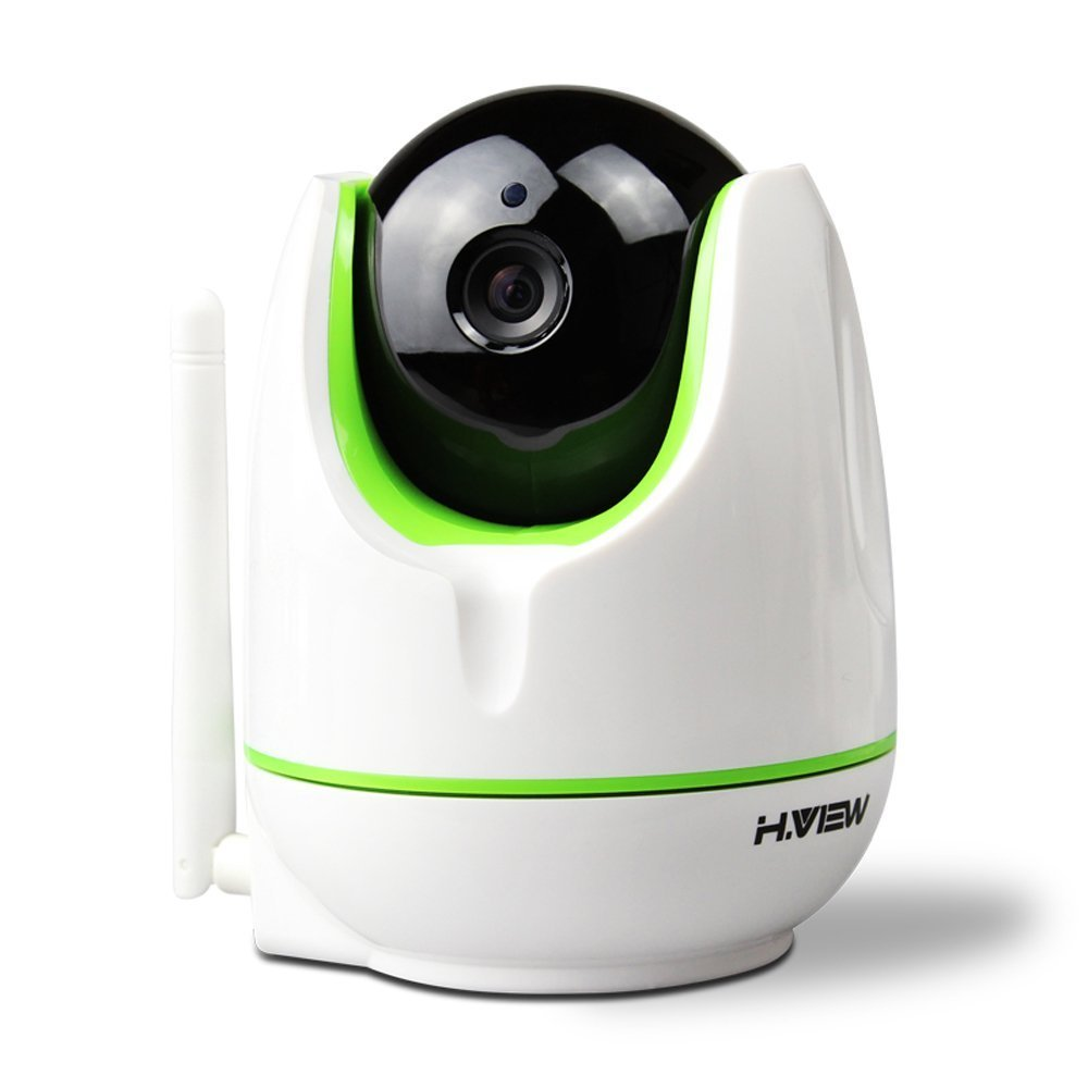 H.View WiFi IP Camera 720P HD Home Security Video Recording,