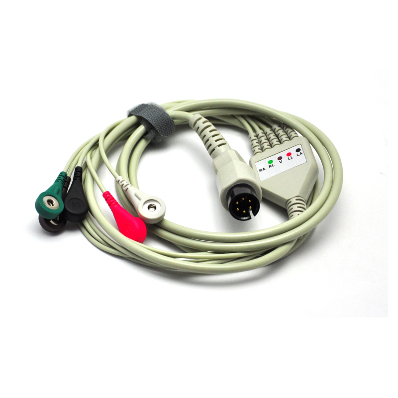 Generic One-piece 5 Leads ECG Cable