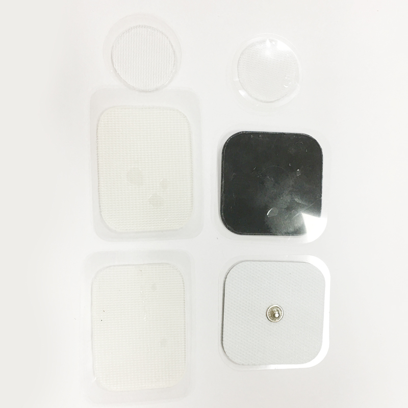 Disposable ECG Electrode Patches with Snap