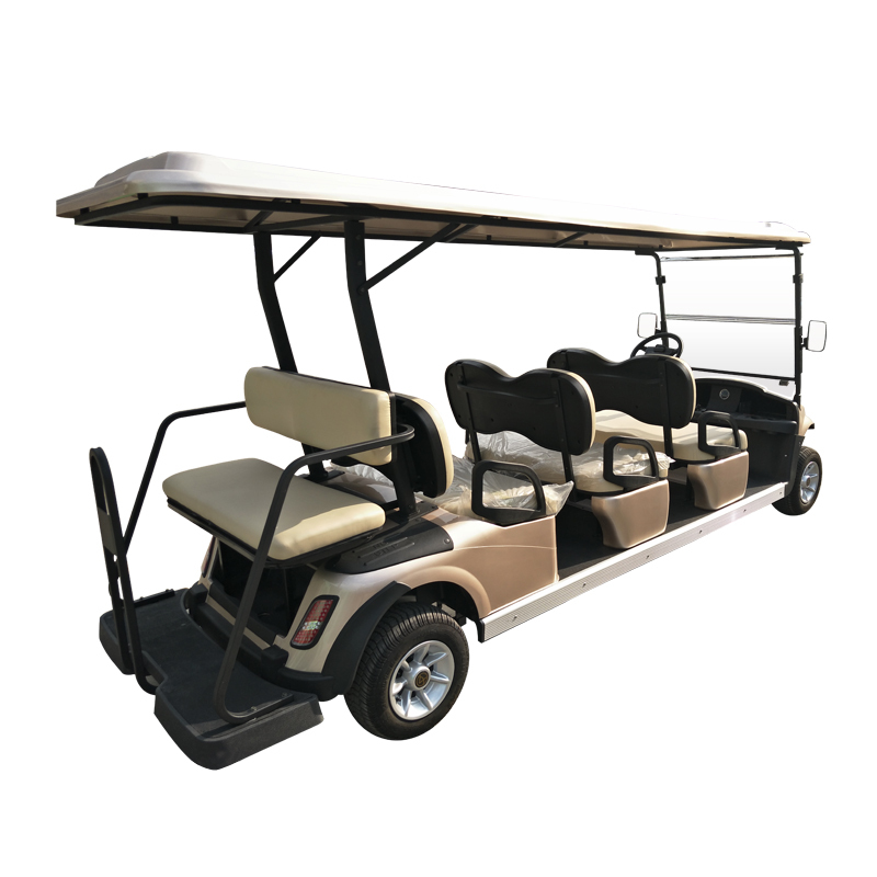 6+2 Seater Golf Cart- Vehicle Model: RD-6AC·G+2+D(DC Also Av