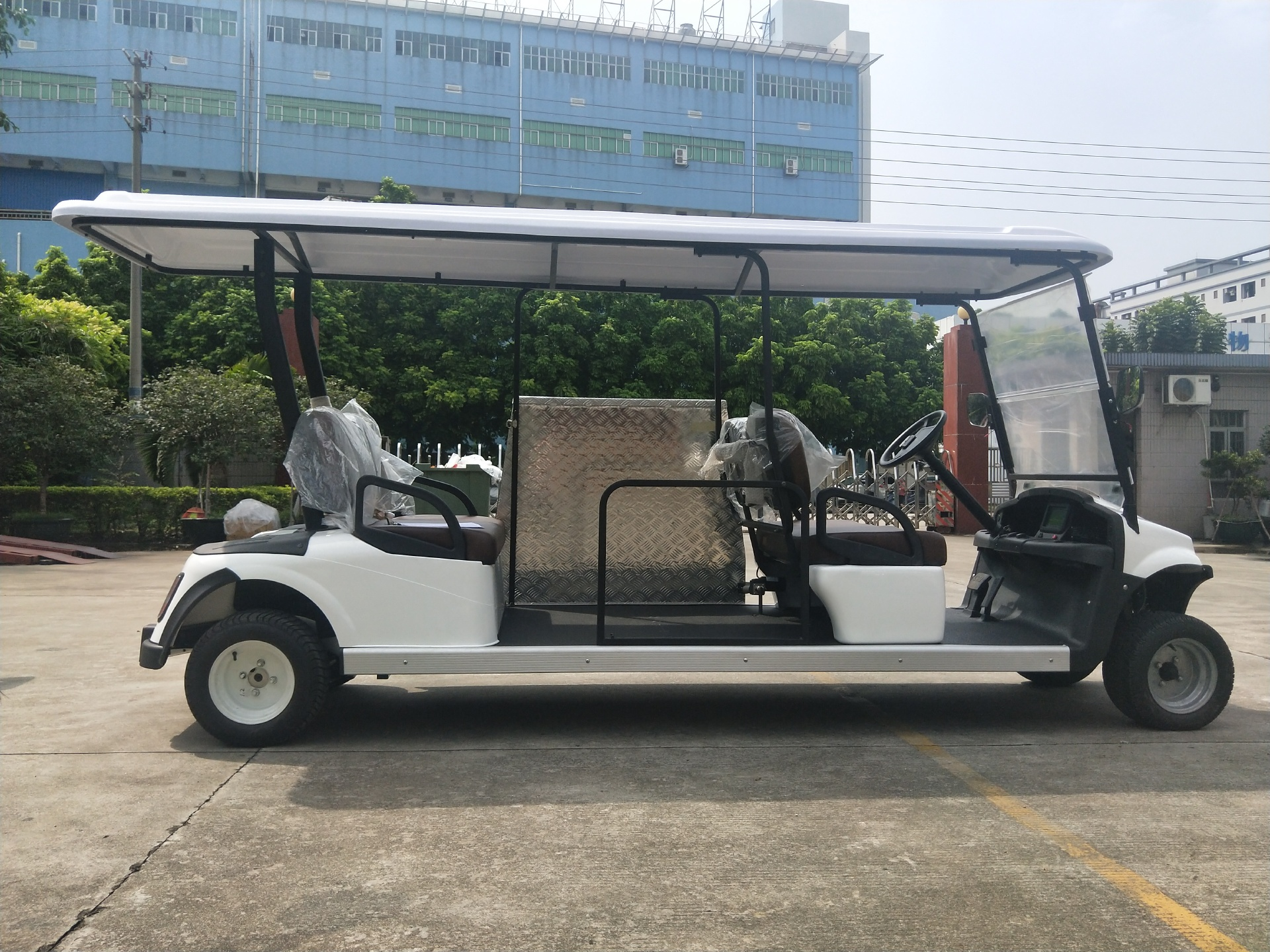 6 Seater Wheelchair Cart