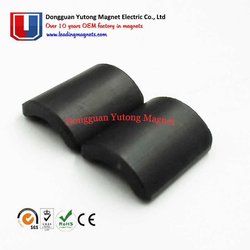 Neodymium Arc Rotor Magnets Epoxy Coated