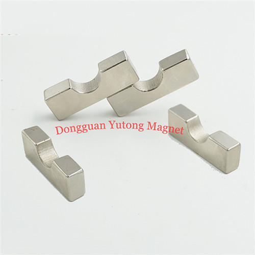 Nickel Plated Special Shape Magnets with Strong Magnetism