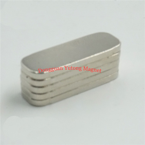 N38 Powerful Racetrack Magnets with Nickel Plating  14