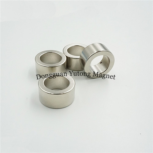 N35 Neodymium Ring Magnets for toys, 20*13*10MM, Nickel (Ni-