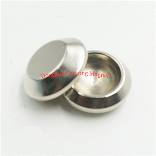 Bowl Shape Rare Earth Neodymium Magnet OD20mm x ID12mm x 8mm