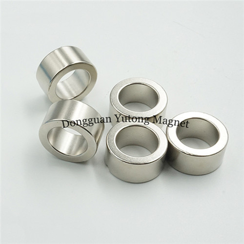 Electric Magnets 01 Ring Magnets, 20*13*10MM, Nickel (Ni-Cu-