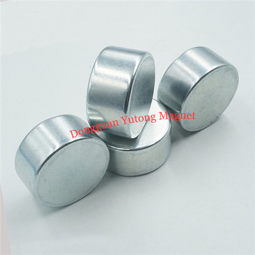 D32*T16mm Round Shape Boxes Magnets with Zinc Plating  11
