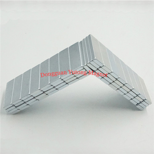 Neodymium N38 Packaging Block Magnets Zinc Plated for Ipad S