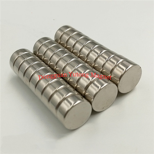 D16*4mm Permanent Stong Disc Magnets Ni-Cu-Ni plated for Gif