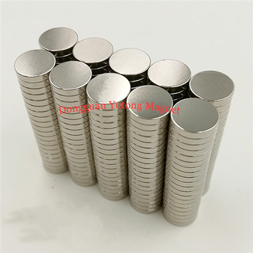 Powerful Disc Magnets Nickel Plated for gift boxes