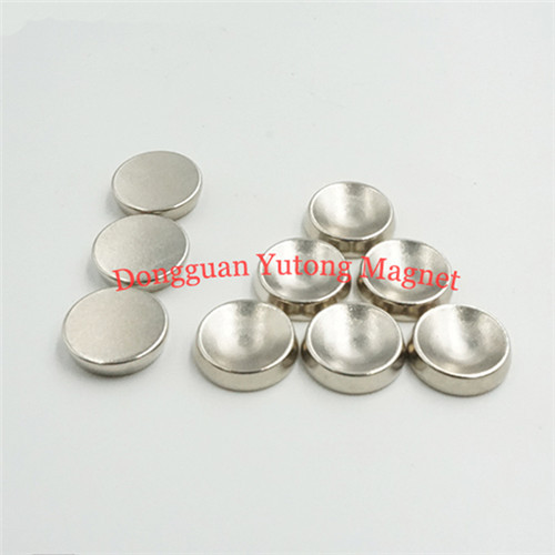 D15*T3 mm  Special Neodymium Disc Magnets with depressed cen