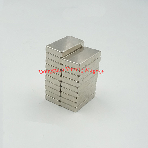 Rectangle Block Permanent Powerful Neodymium  Magnets Nickel