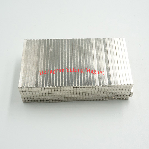 Block Bar Powerful Packaging Magnets with Nickel Plated