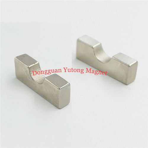 L30*W15*T5 mm  Neodymium N42 Special Shaped Magnets Nickel P