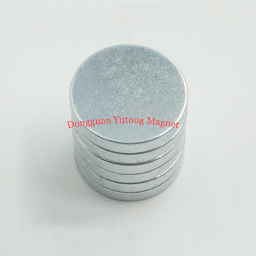 Ø 30X 5.2 mm Zinc Plating N38 Neodymium Disc Magnets  04