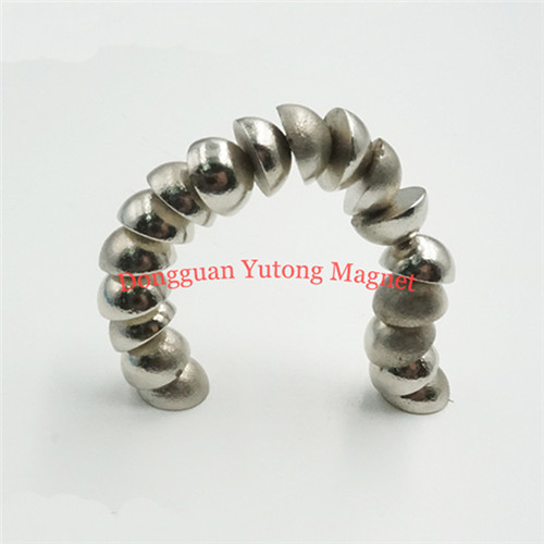 Powerful Permanent Neodymium Semi-Sphere Magnets